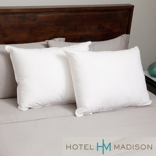 Hotel Madison 230 Thread Count Three Chamber Down Alternative Pillow (Set of 2)