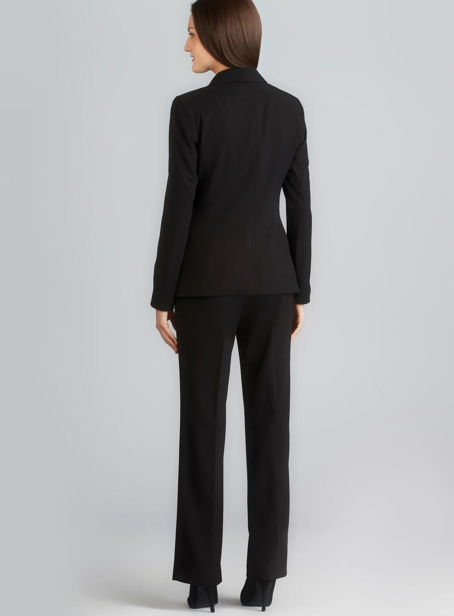Calvin Klein One Button Shawl Collar Pant Suit