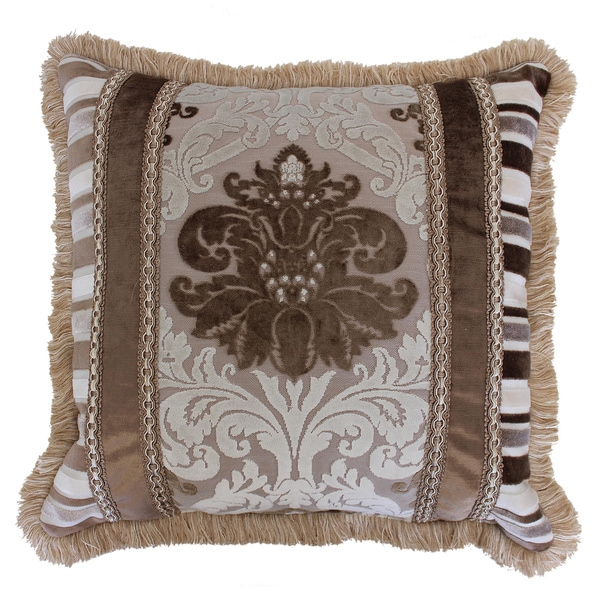 Austin Horn Classics 20-inch Minuet Luxury Throw Pillow - 15626463 - Overstock.com Shopping ...