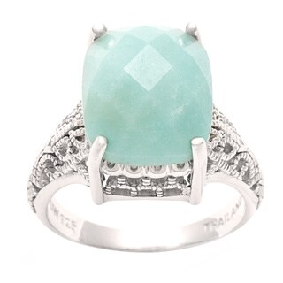 Silvermoon Sterling Silver Amazonite Ring