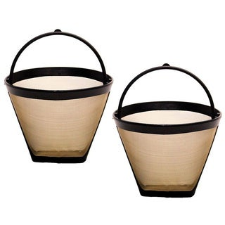 GoldTone Reusable Cone Style Coffee Filters (Pack of 2)