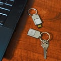 Personalized 4GB USB Keychain