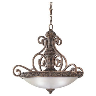 Sea Gull Lighting 3-light Regal Bronze Pendant