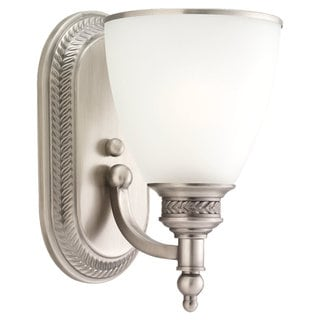 Sea Gull Lighting 1-light Antique Brushed Nickel Wall Sconce