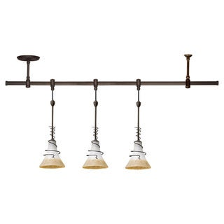 Saratoga 1-light Antique Bronze Pendant Rail Kit