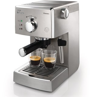 Saeco HD8327/47 Brushed Stainless Poemia Manual Espresso Machine
