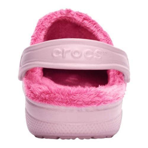 Crocs Baya Fleece Clog Petal Pink/Hot Pink