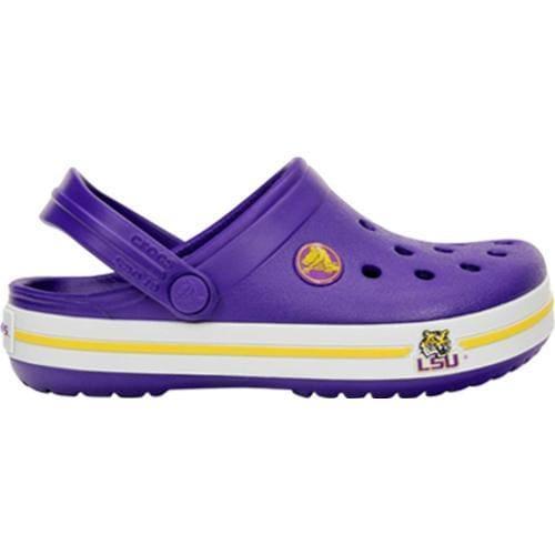 Children's Crocs Crocband LSU Clog Ultraviolet