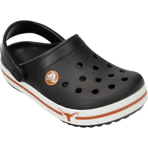 Children's Crocs Crocband Texas Clog Black