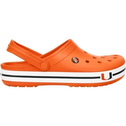Crocs Crocband U of Miami Clog Orange