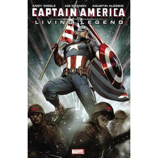 Captain America: Living Legend (Paperback)