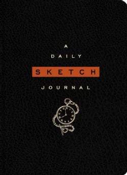 The Daily Sketch Journal (Black) (Notebook / blank book)