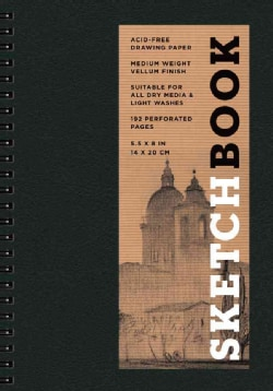 Sketchbook (Basic Small Spiral Black) (Spiral bound)