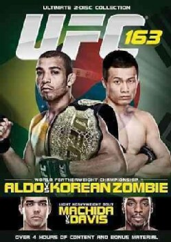 UFC 163: Aldo Vs. Korean Zombie (DVD)