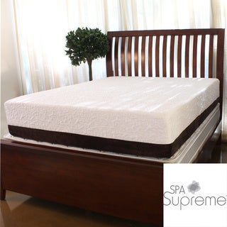 Spa Supreme 12-inch Full-size Gel Memory Foam Mattress