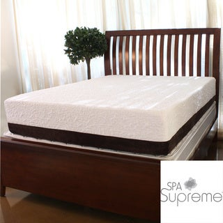 Spa Supreme 12-inch King-size Gel Memory Foam Mattress