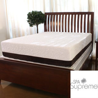 Spa Supreme 12-inch Queen-size Gel Memory Foam Mattress