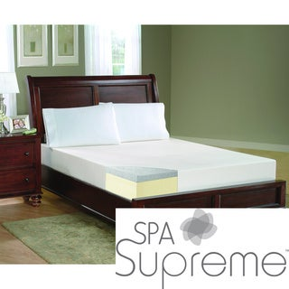 Spa Supreme 8-inch King-size Gel Memory Foam Mattress
