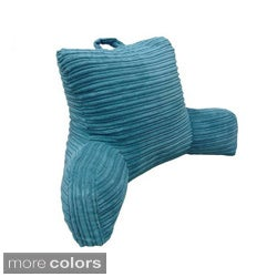 Hi Lo Plush Cord Bedrest Lounger
