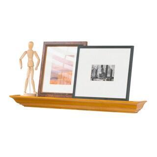 English Oak Cornice Floating Shelf Ledge