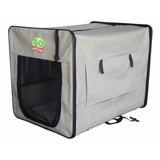 Go Pet Club Beige Soft Dog Crate