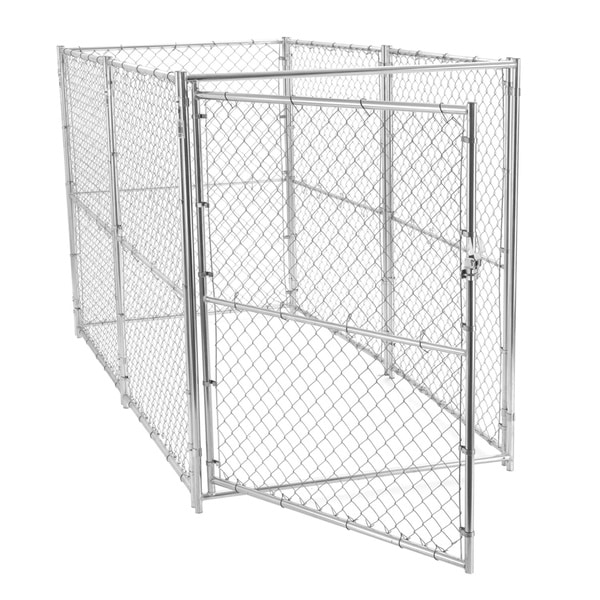 Lucky Dog Modular Chain Link Kennel (6' x 5' x 10')