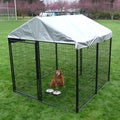 AKC Professional Cover System Modular Kennel/ Rotating Bowls