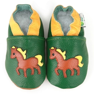 Pony Soft Sole Leather Baby Shoes