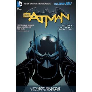 Batman 4: Zero Year-Secret City (Hardcover)