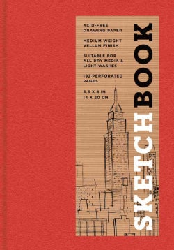 Sketchbook (Basic Small Bound Red) (Notebook / blank book)
