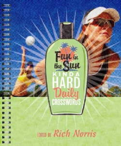 Fun in the Sun Kinda Hard Daily Crosswords (Paperback)