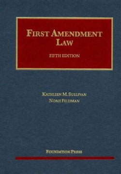 First Amendment Law (Hardcover)
