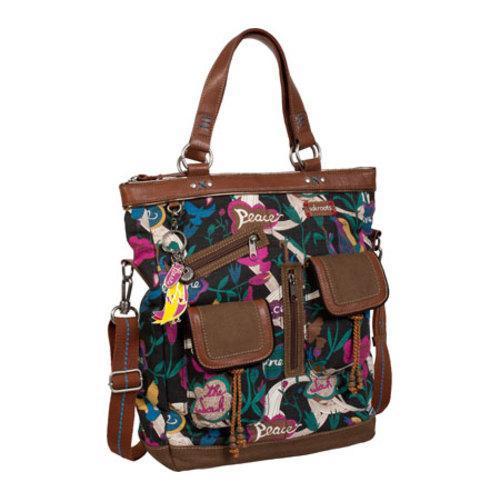 Women's Sakroots Artist Circle Utility Bag Jewel Peace