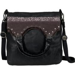 Women's THE SAK Indio Foldover Black Glitter