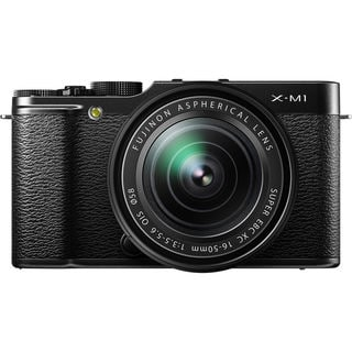 Fujifilm X M1 Mirrorless Digital Camera XC 16-50mm f/3.5-5.6 OIS Lens