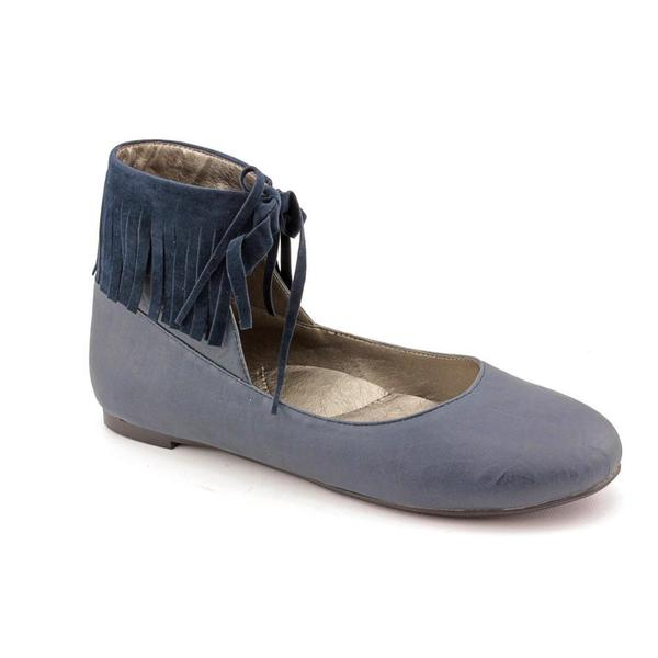 Hearts of Darkness by Cri de Coeur Women's 'Fringe Enchant' Basic Blue Textile Casual Shoes
