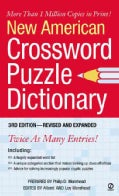 New American Crossword Puzzle Dictionary (Paperback)