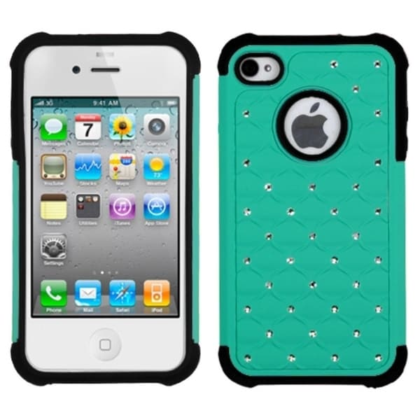 INSTEN TotalDefense Phone Case Cover for Apple iPhone 4S/ 4