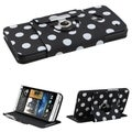 BasAcc Rotatable MyJacket Wallet Case for HTC One/ M7