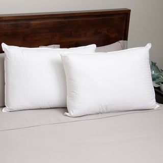 Hotel Madison 305 Wrapped Foam Bun Pillow (Set of 2)