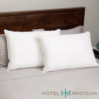 Hotel Madison 400 Thread Count Down Alternative Pillow (Set of 2)