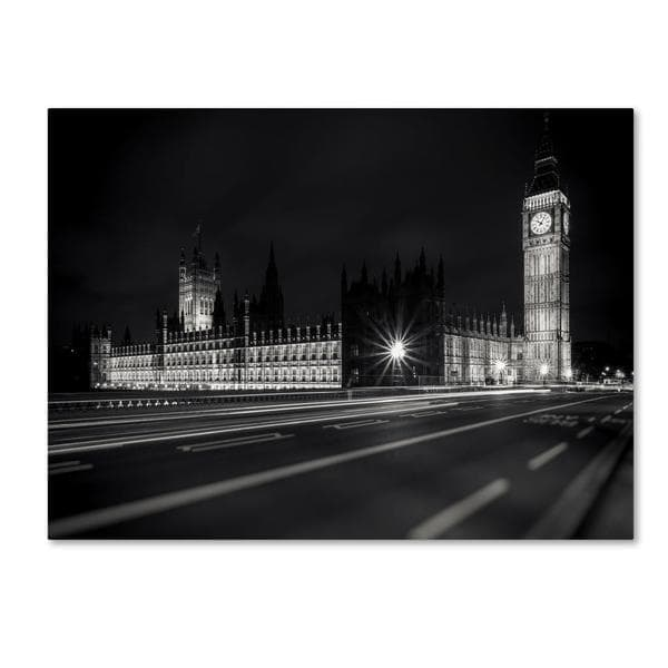 Giuseppe Torre 'Letters From London 2' Canvas Art