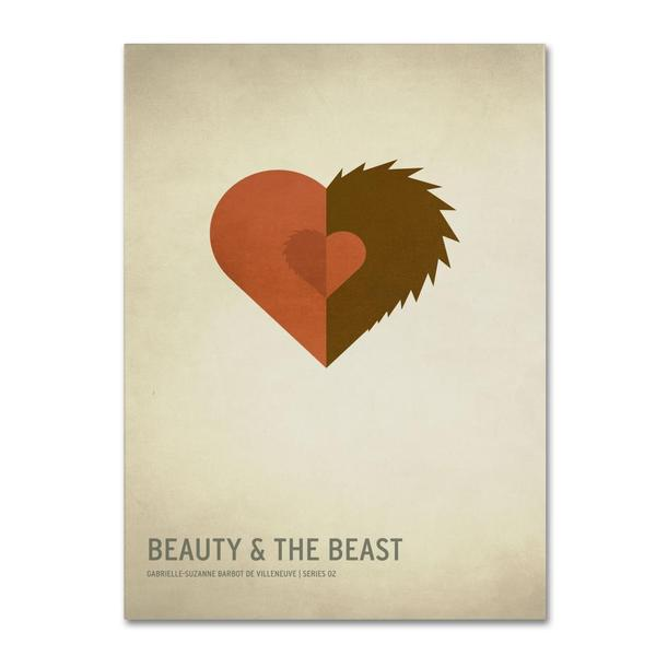 Christian Jackson 'Beauty and the Beast' Canvas Art
