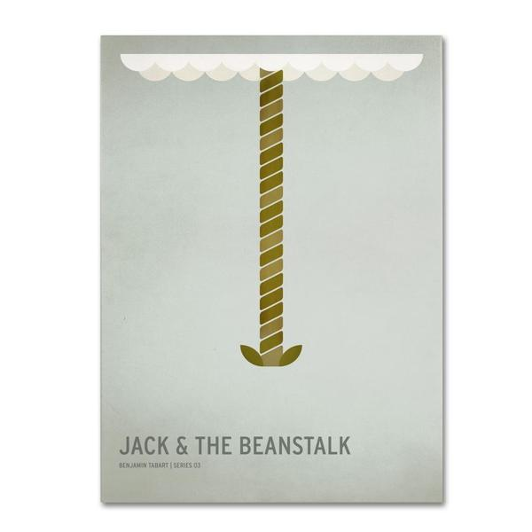 Christian Jackson 'Jack and the Beanstalk' Canvas Art
