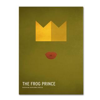 Christian Jackson 'The Frog Prince' Canvas Art