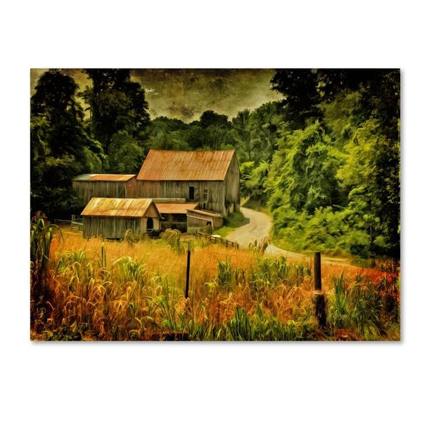Lois Bryan 'Country Road In Summer' Canvas Art