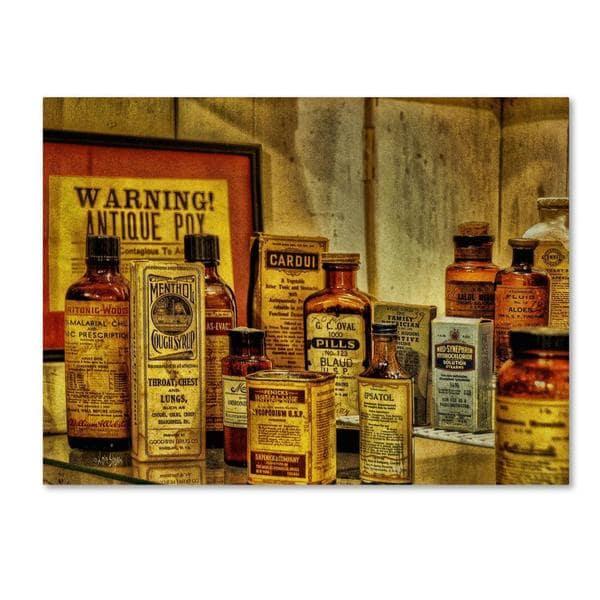 Lois Bryan 'Vintage Medicines' Canvas Art