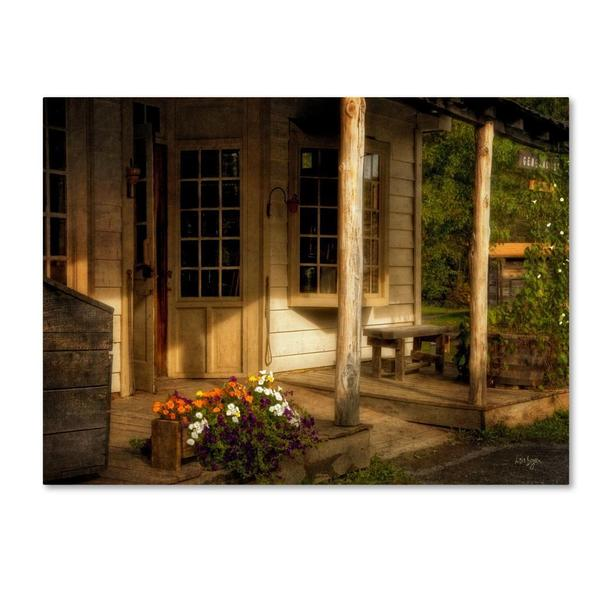 Lois Bryan 'The Old General Store' Canvas Art