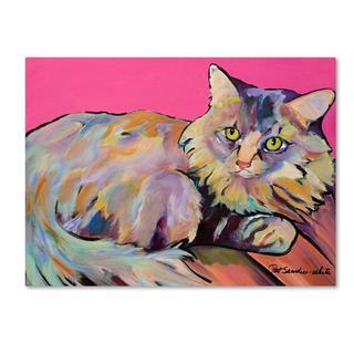 Pat Saunders 'Catatonic' Canvas Art