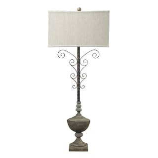 Dimond Lighting 1-Light Table Lamp in Montauk Grey Finish